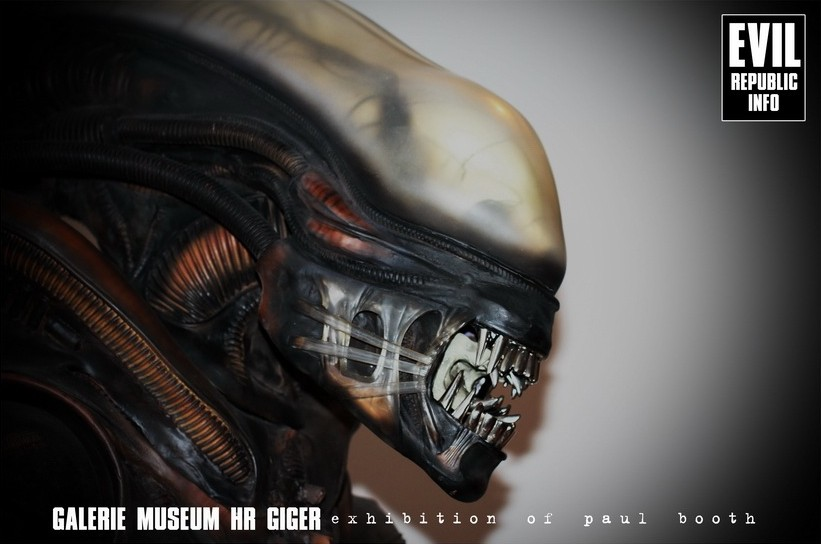 выставка Пола Бута в музее Гигера