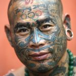 Олимпийские татуировки одного китайца