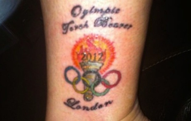 китаец, олимпийская татуировка