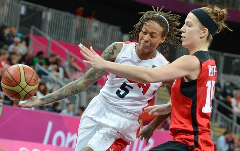 Michelle Plouffe, женский баскетбол, татуировка