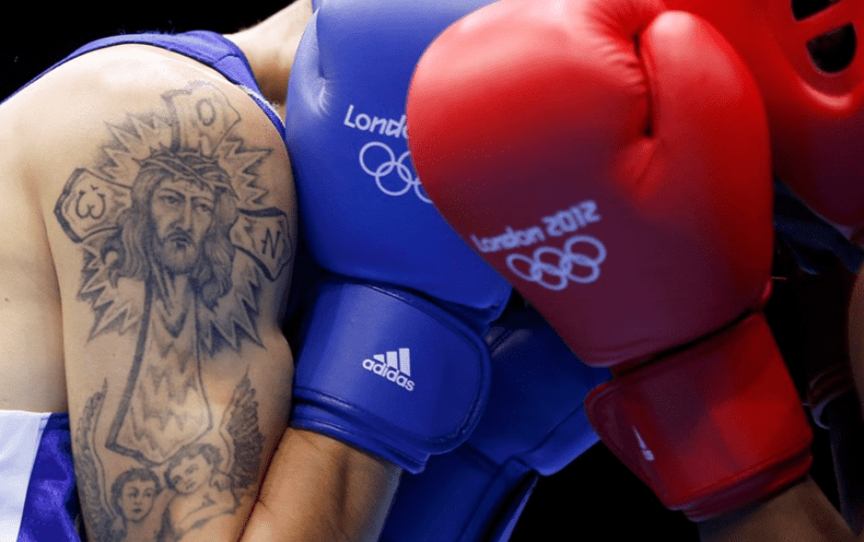 Selemani Kidunda, бокс, татуировка