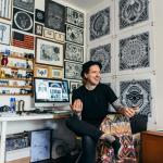 Tom Gilmour и его черно-белая графика