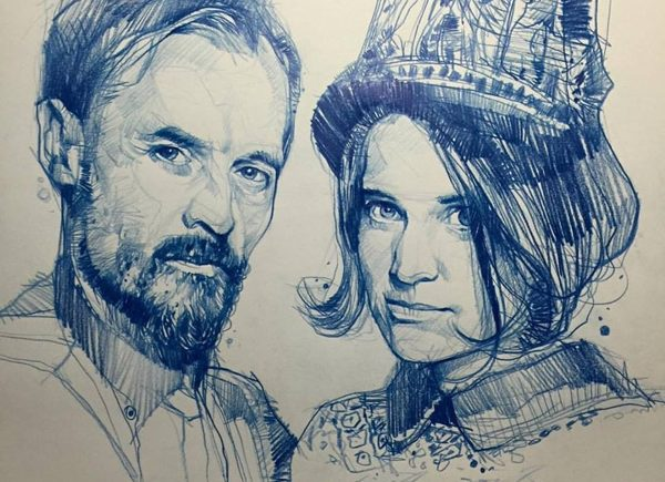 Volko Merschky и Simone Pfaff
