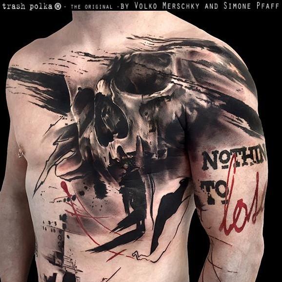 татуировки трэш полька картинки