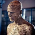 Бронзовая скульптура Зомби Боя