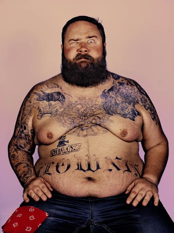 красивые бородатые мужики с татуировками
