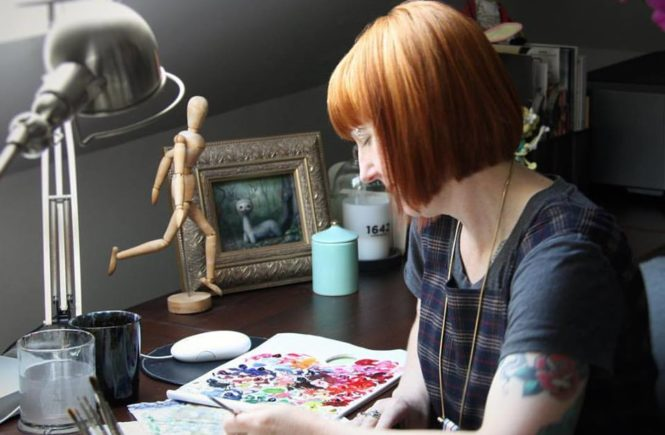 Melissa Hartley: художник-самоучка