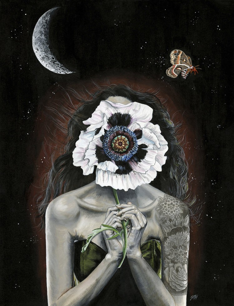 Melissa Hartley - портреты девушек с татуировками
