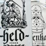 Реклама немецкой водки «Held»