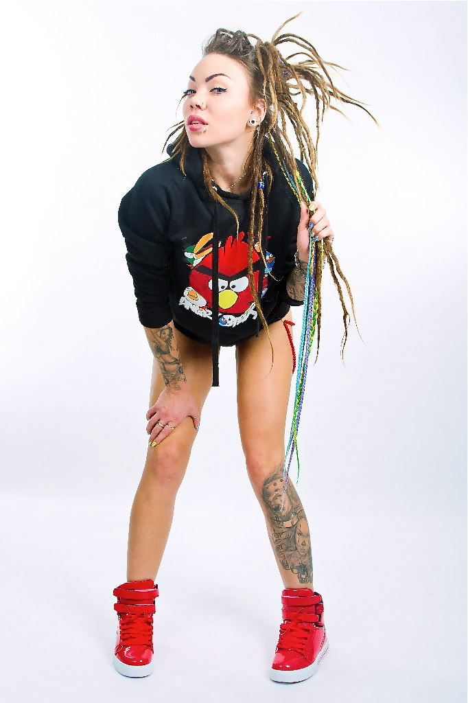 света сид ананас, tattoo queen