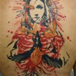Jef Palumbo, татуировочные поп-арт коллажи