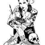 Адам Исаак Джексон представляет татуированных девчонок