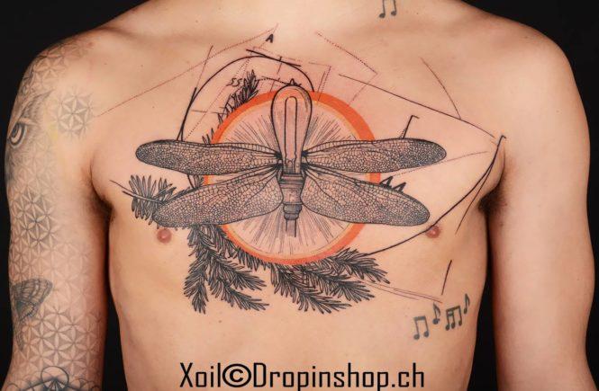 татуировки, фотошоп, Xoïl