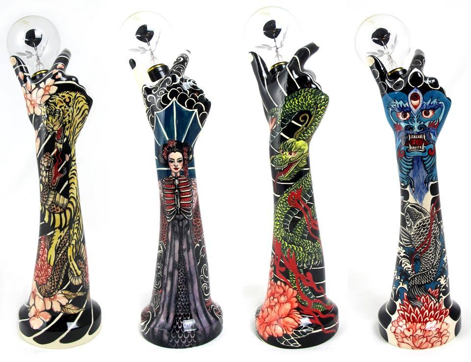 роспись по керамике, скульптура, эвелина таннус, evelyn tannus, бразилия, сан-паулу, фарфор