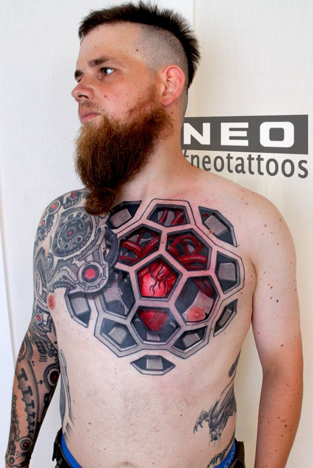 биомеханика от Neo из Швейцарии