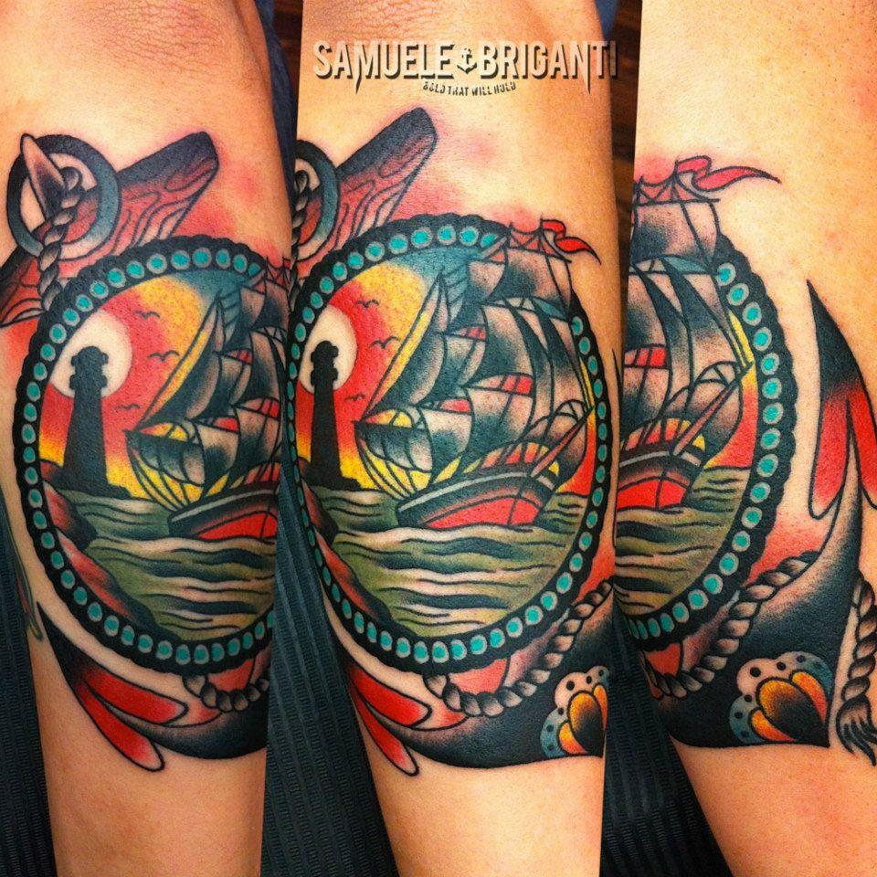 Самуэль Бриганти (Samuele Briganti) - море и олдскул