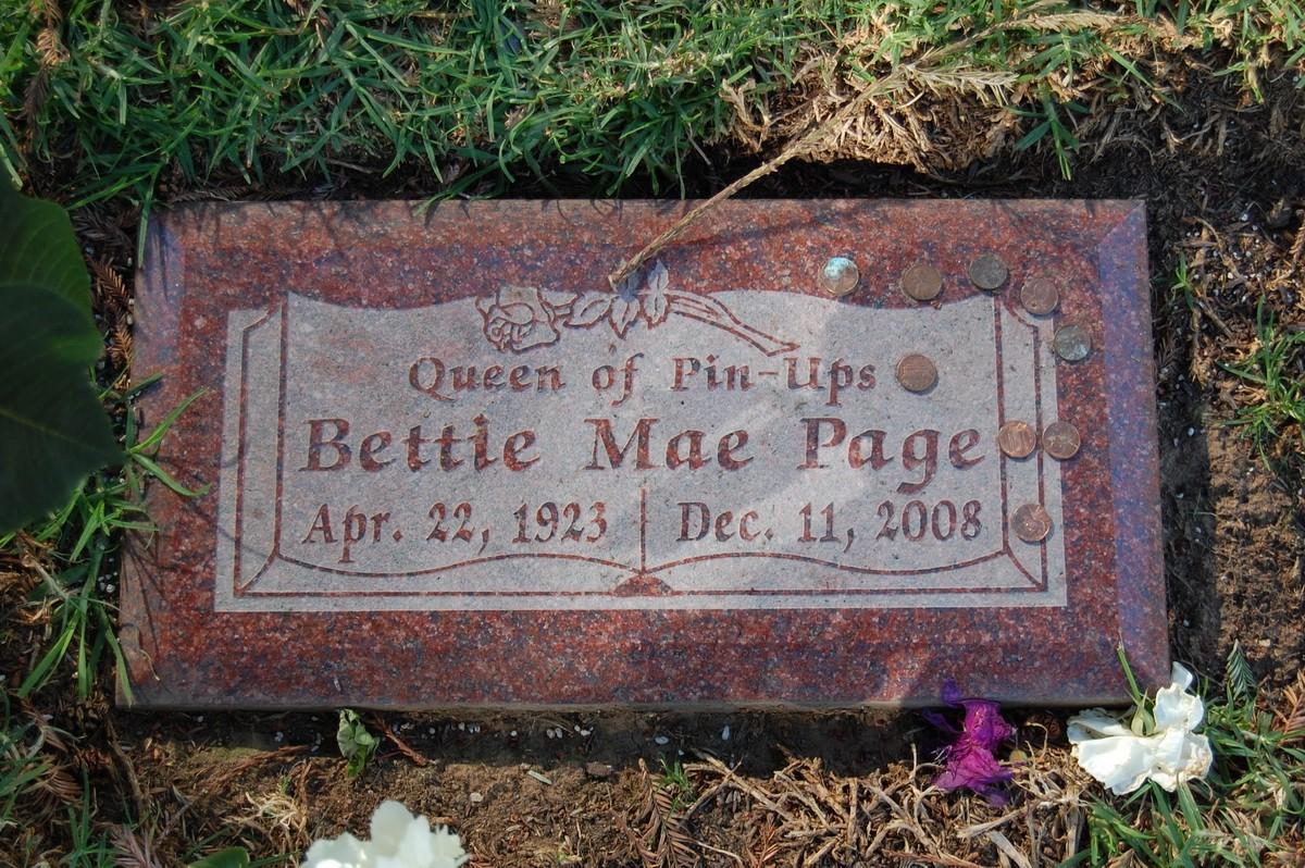 могила, Бетти Пейдж, Bettie Page, королева, пинап, pinup
