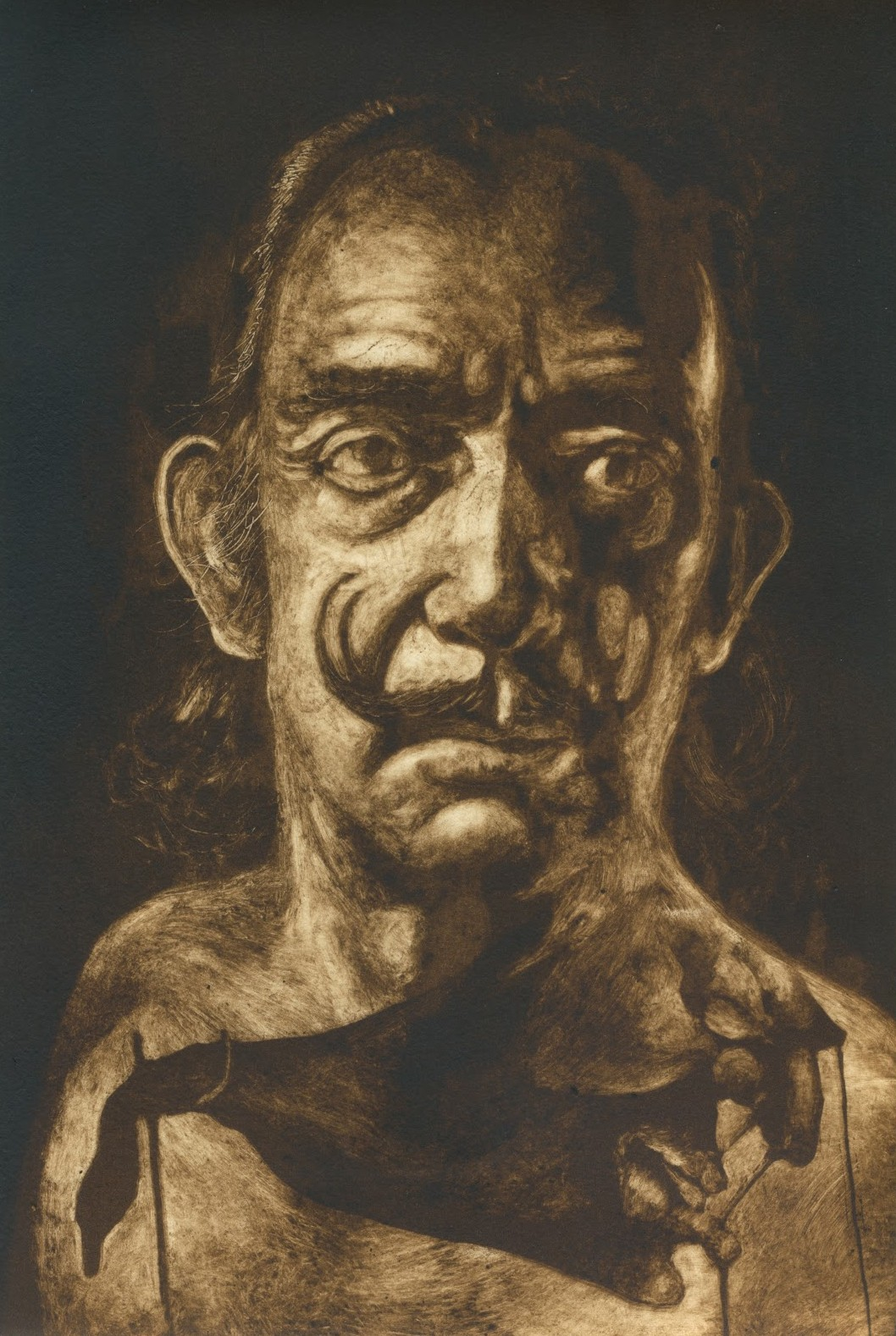 татуированные художники, Сальвадор Дали