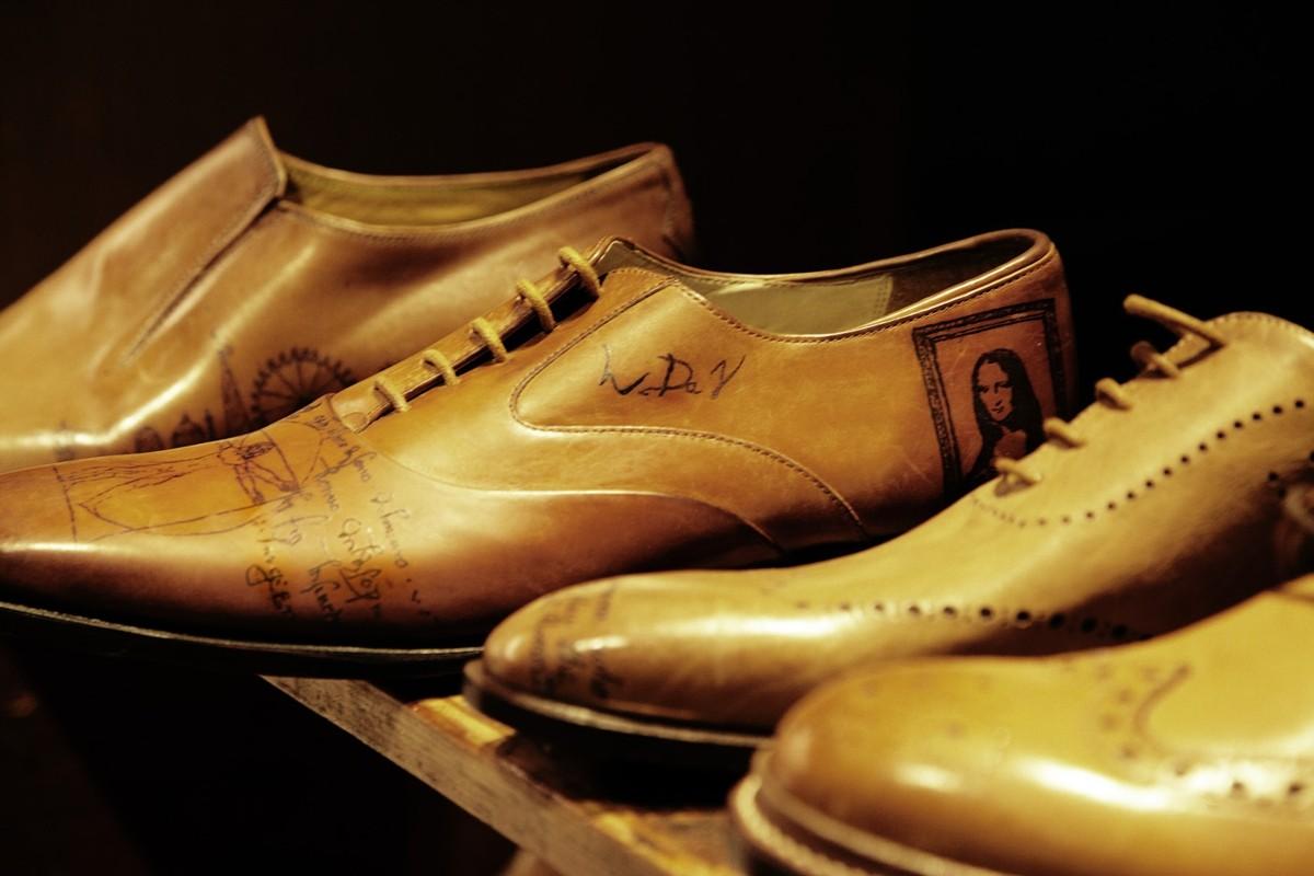 татуированные ботинки от Henry Hate