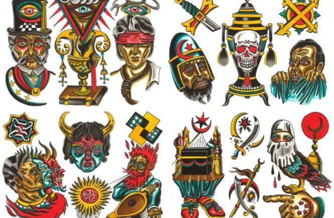 итальянская мистика в татуировках Диего Бранди