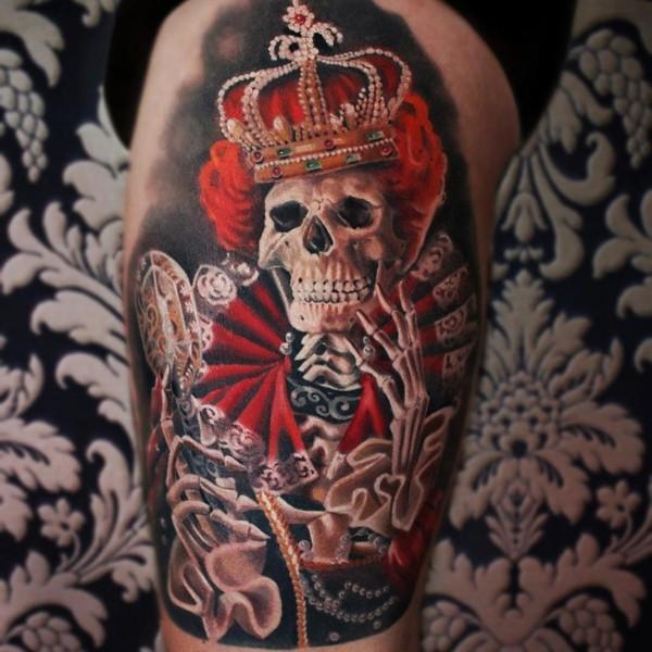 татуировки Мони Марино (Moni Marino)