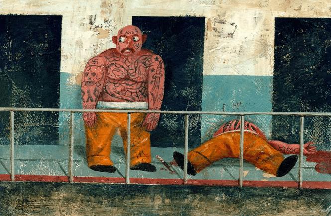тюремная татуировка El Rotor Tatua