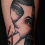 Татуировки-лица Пьетро Седды