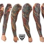 Биомеханика 2.0 – перезагрузка стиля, мастер татуировки Александр Шолохов
