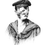 Эскизы татуировок Пьетро Седды