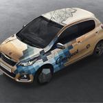 Дизайн для автомобиля «Peugeot 108» от Xoïl