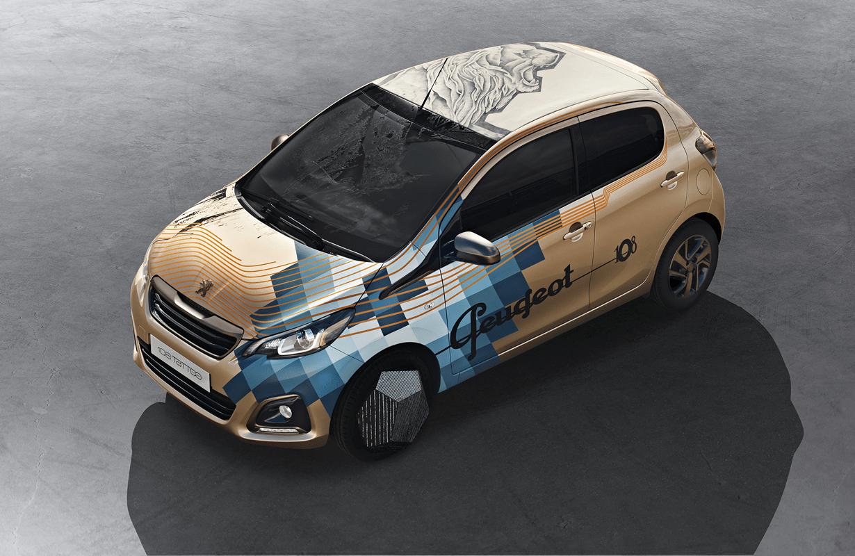 """дизайн для """"Peugeot 108"""" от Xoïl"""