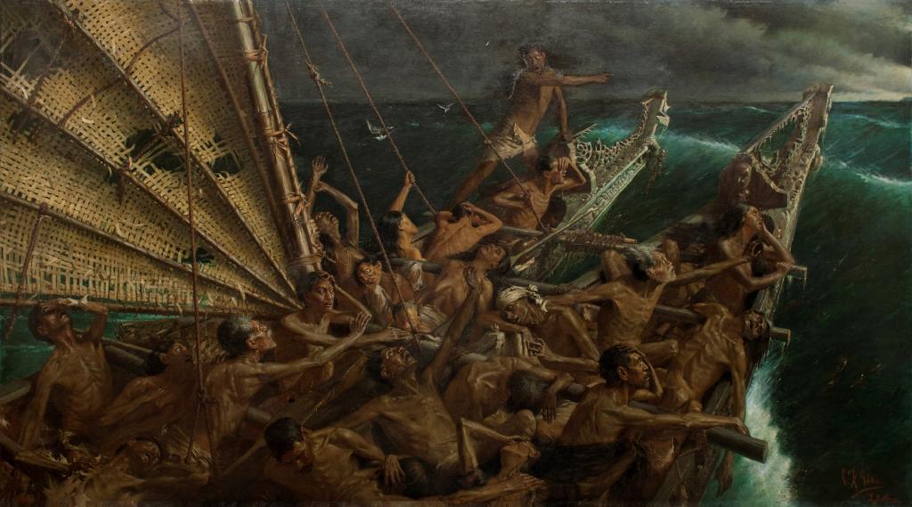 чарльз голди живопись кораблекрушение