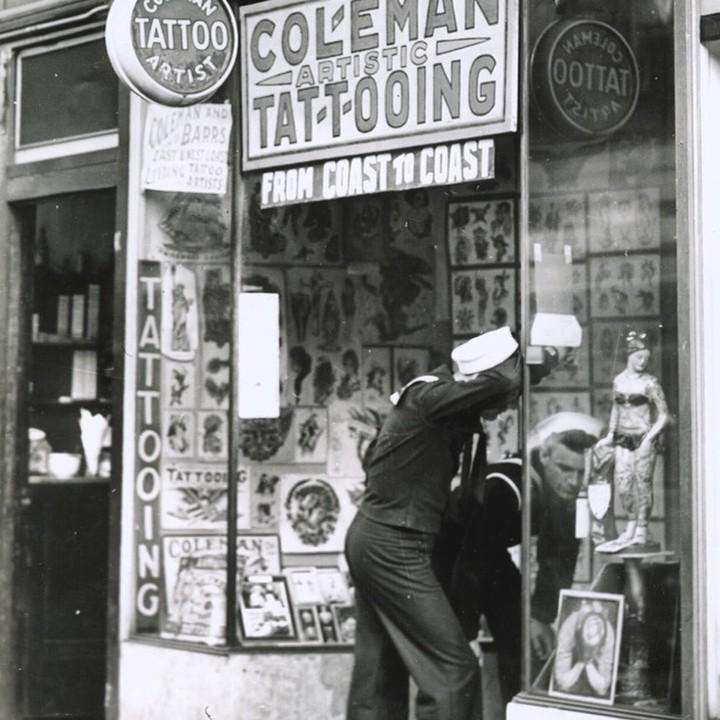 Cap Coleman студия татуировки
