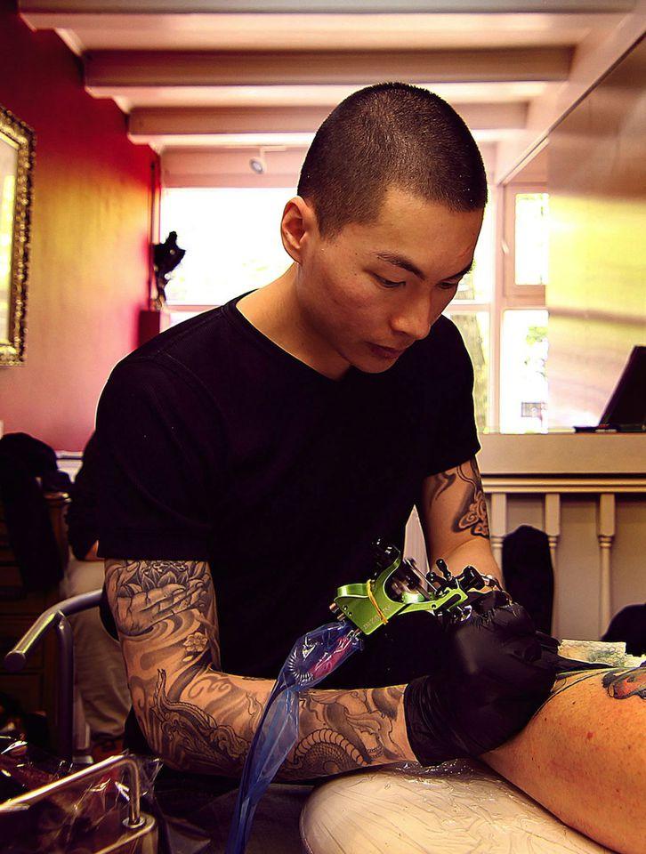 Акварельный татуировщик Jay Freestyle