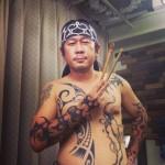 Taku Oshima – классические черно-белые трайбл-тату