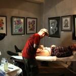 Отчет о выставке «Ассоциации профессиональных татуировщиков», которая прошла в январе 2015 года в Санкт-Петербурге