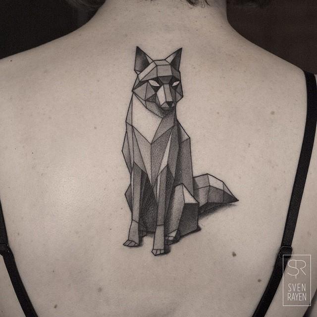 черно-белые татуировки Sven Rayen