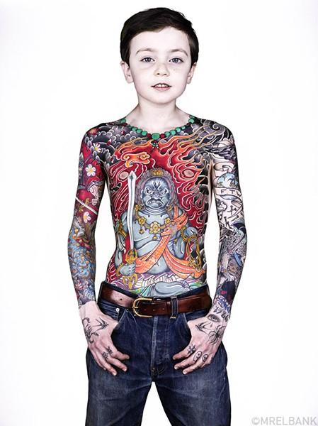 Татуированные дети Брока Элбанка