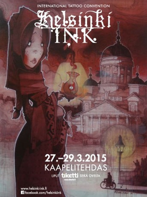 Автобусный тур на «Helsinki Ink 2015»
