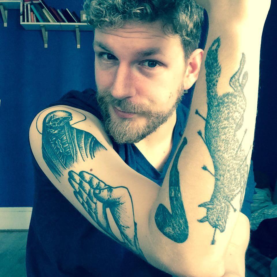 Татуировки в графике Майка Ховарда (Mike Howard)