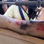 Будущее уже наступило: 3d-принтер для татуировок в действии