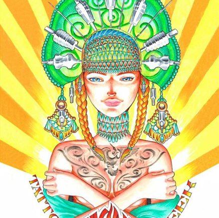 Московская выставка татуировки