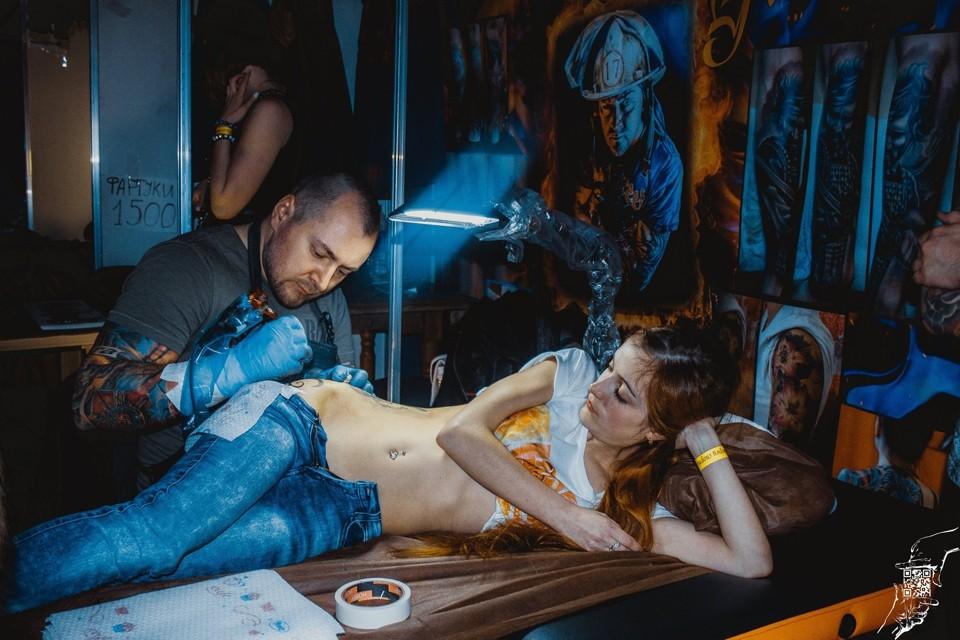 «ТатуМо 2015» (фестиваль татуировки в городе Старый Оскол)