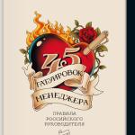 Максим Батырев и его книга «45 татуировок менеджера»