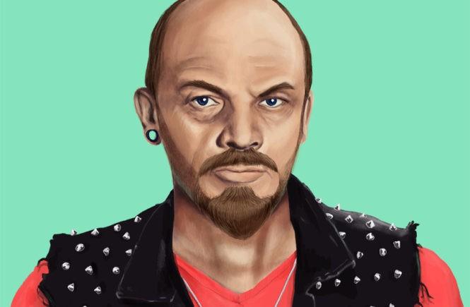 Ленин с татуировками