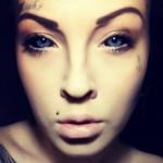 Магдалена Майер – татуировки на глазных яблоках