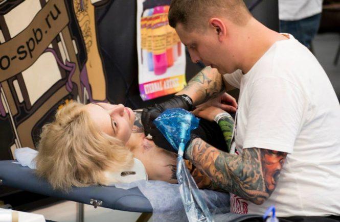 Московская выставка татуировки 2015