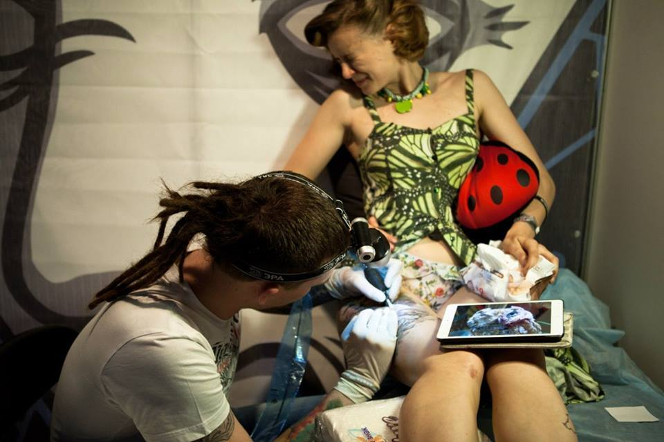 13-й тату-фестиваль в Санкт-Петербурге