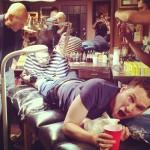 """Продюсер фильма """"Люди Икс: Дни минувшего будущего"""" Brian Singer сделал себе татуировку"""