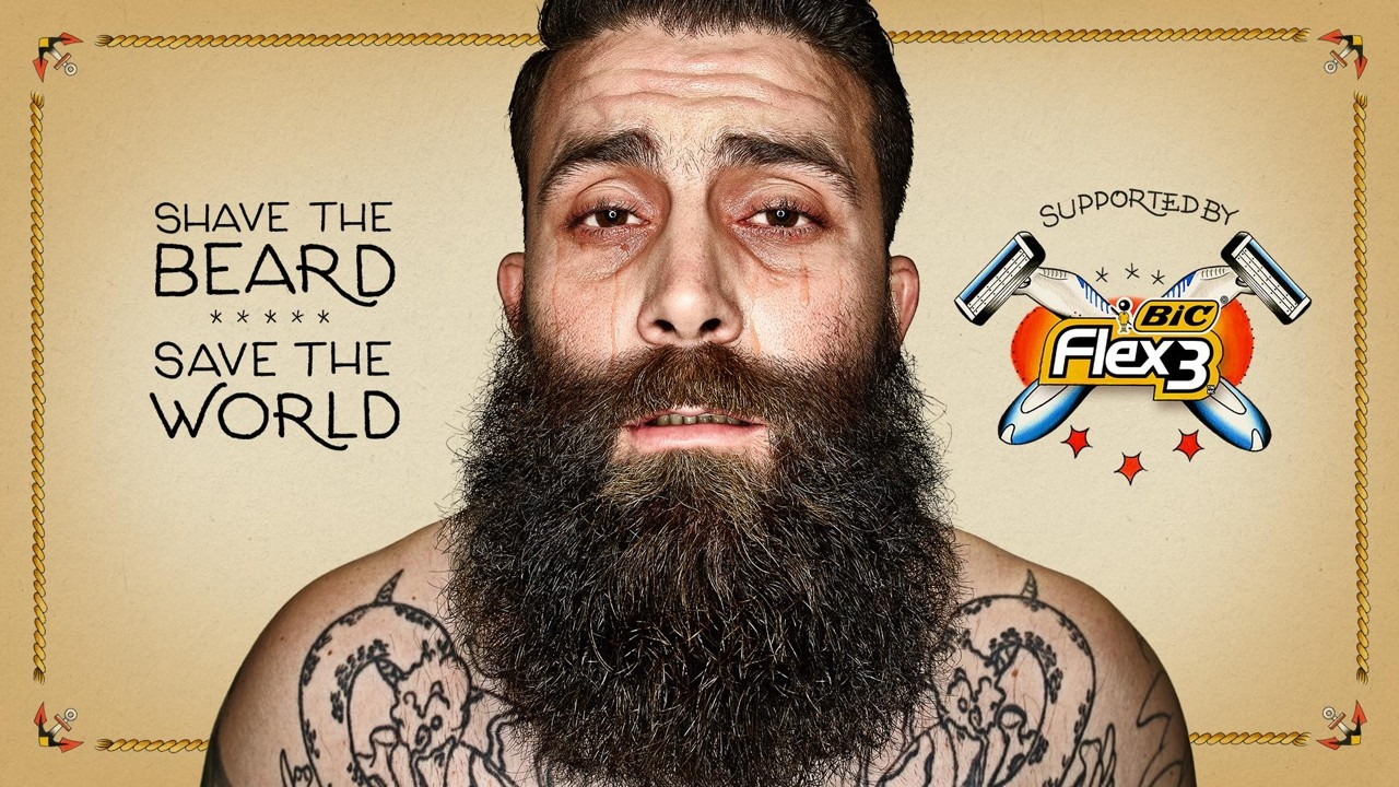 хипстервенция: побрей бороду - спаси мир